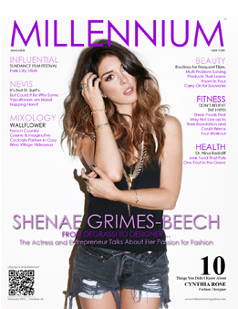 Actress and Entrepreneur Shenae Grimes-Beech