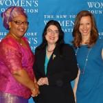 Jennifer Buffett, Leymah Gbowee, Ruth Moore