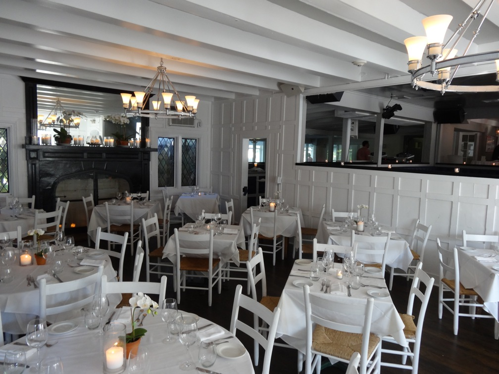 Diningroom With Dance Floor Behind At Georgica Restaurant