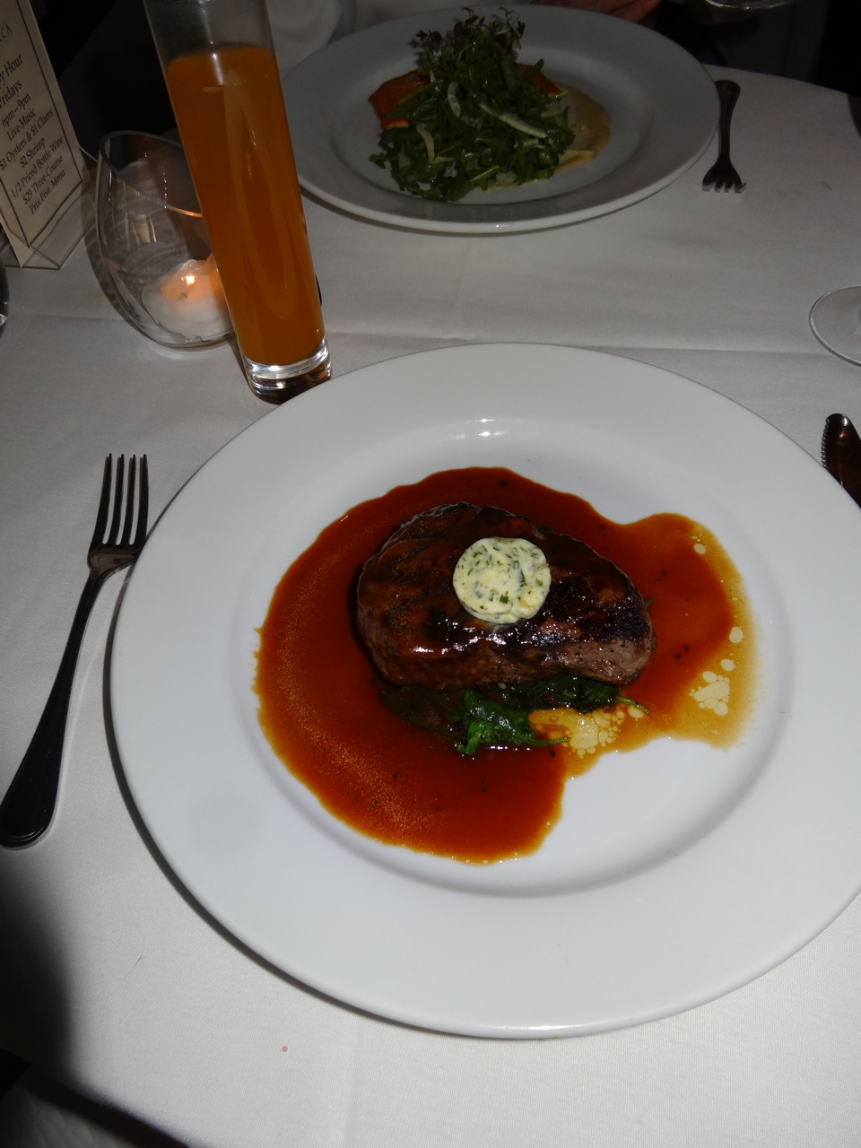 The Filet Mignon With Roasted