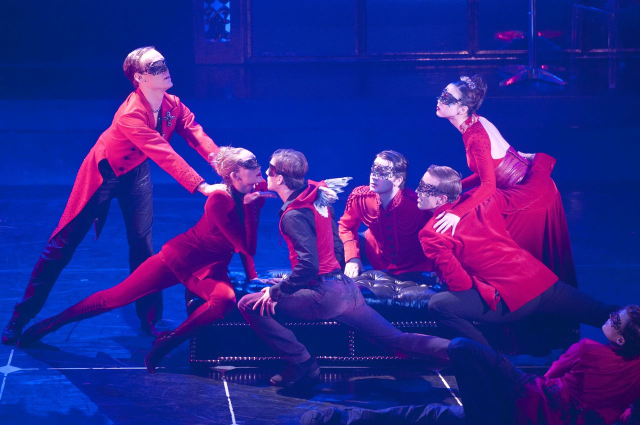 The surprisingly devilish cast of Matthew Bourne's Sleeping