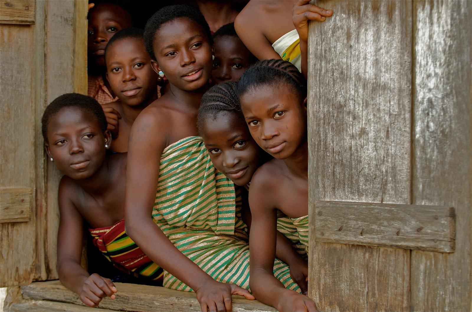 Nigerian School Project.Ibadan School Girls