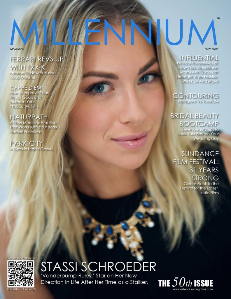 Stassi Schroeder - MILLENNIUM APRIL 2015