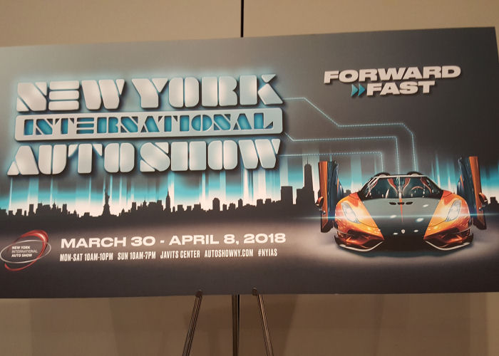 PUT THE PEDAL TO THE METAL The New York International Auto - Nyc car show javits center