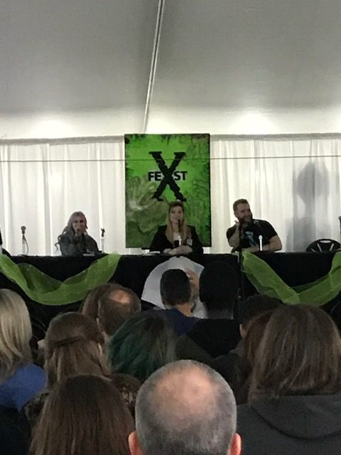 X-Fest Panel with Creative Mobile developer of X-Files - Deep State Game launched Feb 6 2018