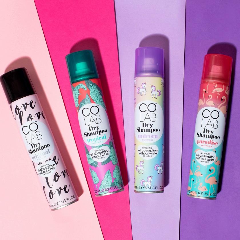 colab dry shampoo